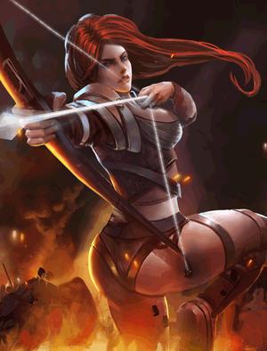Redknife Archer (1)