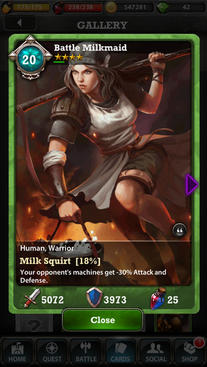 Milkmaid 20