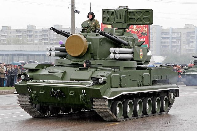 File:2S6M Tunguska 9K22M tracked self-propelled air defence cannon missile system Russia Russian army 640.jpg