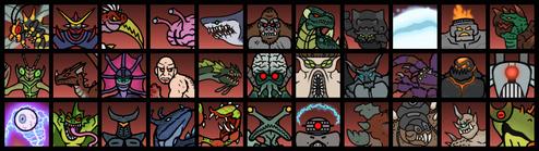 Wotm2 monster endings by dinohunter2-dato6ko