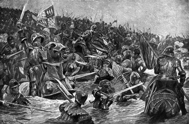File:Richard Caton Woodville's The Battle of Towton.jpg