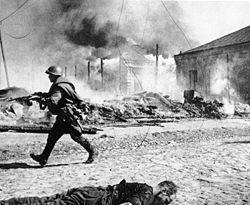 Street fight babruysk 28th or 29th june 1944