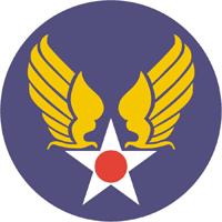 Us army air corps shield