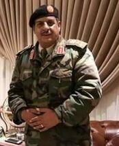 Commander of Omer Al-Mukhtar operations room