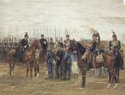 Captured Bavarian Soldiers 1870 War