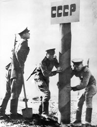 Soivet Border restored 1944