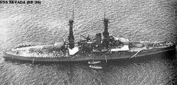 USS Nevada-1920's