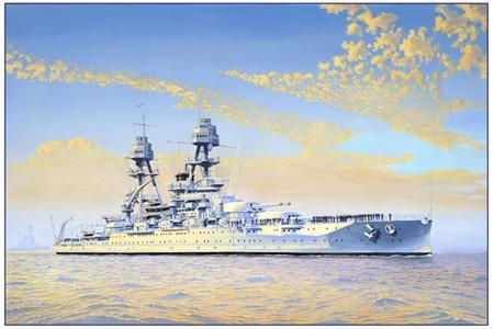 Nevada class battleship