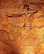 Ramses II at Radesh