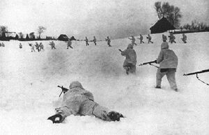 WW2 MoscowBattle russian soldiers