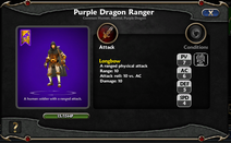 Purple Dragon Ranger Details
