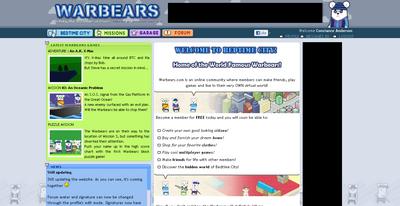 Warbears' page
