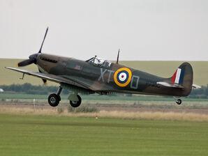 Spitfire IIA P7350
