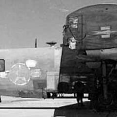 <b>B-24D-160CO 42-72843</b> <i>Strawberry Bitch</i> being prepared for her final flight, to the USAFM.