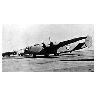 B-24D <i>41-24301</i> before receiving desert modifications