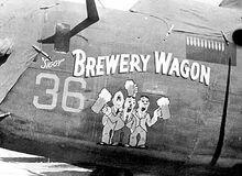 Brewery Wagon nose art