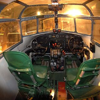 37-0469's cockpit.