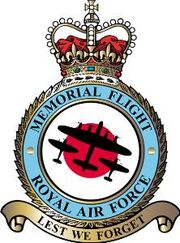 Battle of Britain Memorial Flight Crest