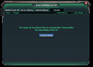 No fb friend on leaderboard