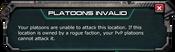 PvP Platoon Invalid