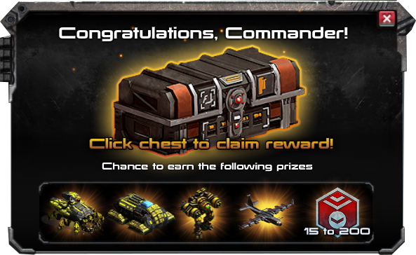 War commander prizes