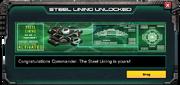 SteelLining-UnlockMessage