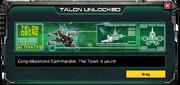 Talon-UnlockMessage