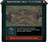 Reinforced Heavy Platform