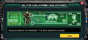 EliteValkyie UnlockedMessage