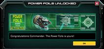 PowerFoils-UnlockMessage