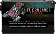 Elite-Crusader-Weekend-Announcement