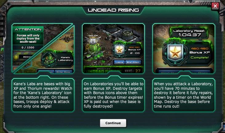 War commander shockwave prizes for mega