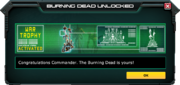 BurningDead-UnlockMessage