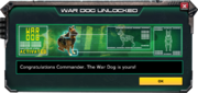 WarDog-UnlockMessage