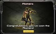Romero-UnlockMessage