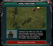 Infiltrator-EventShopDescription