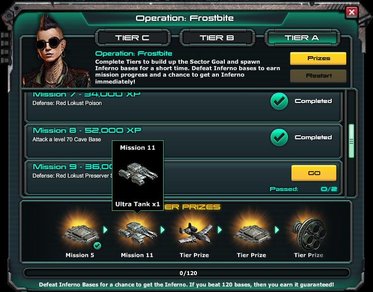 Aftermath war commander prizes for mega