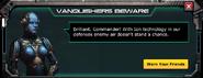 Ion Turret - Level 1 Message