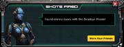 Deadeye Missile - Level 1 Message