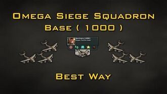 War Commander Omega Siege Squadron Base ( 1000 )