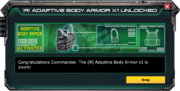 (R)AdaptiveBodyArmor-UnlockMessage