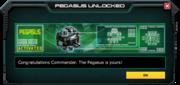 Pegasus-UnlockMessage