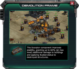 Demolition Frame