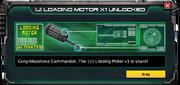 (U)LoadingMotor-UnlockMessage