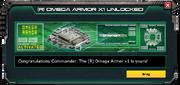 (R)OmegaArmor-UnlockMessage