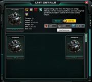 Pegasus-UnitDetails