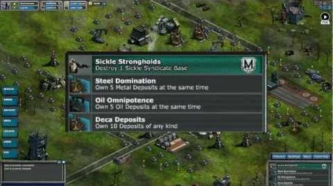 War Commander Advanced Missions