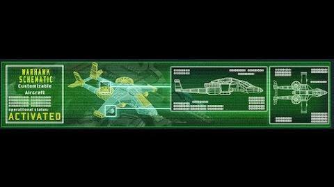 Warhawk schematic in action & wingman