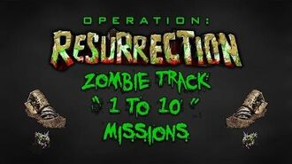 "Resurrection - Zombie Track "" 1 To 10 "" Missions"