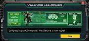Valkyrie UnlockNotice